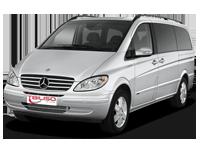 mercedes Benz Vito Car Rental in Tbilisi, Georgia, Batumi, Kutaisi