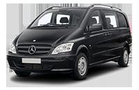 Mercedes Benz Viano Car Rental in Tbilisi, Georgia, Batumi, Kutaisi
