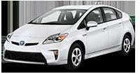 Toyota Prius Car Rental in Tbilisi